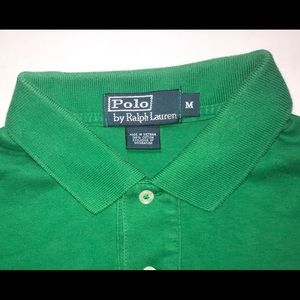 Polo by Ralph Lauren Shirts - Medium Green Polo Shirt